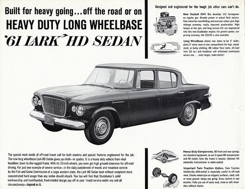Studebaker 1961 lwb sedan