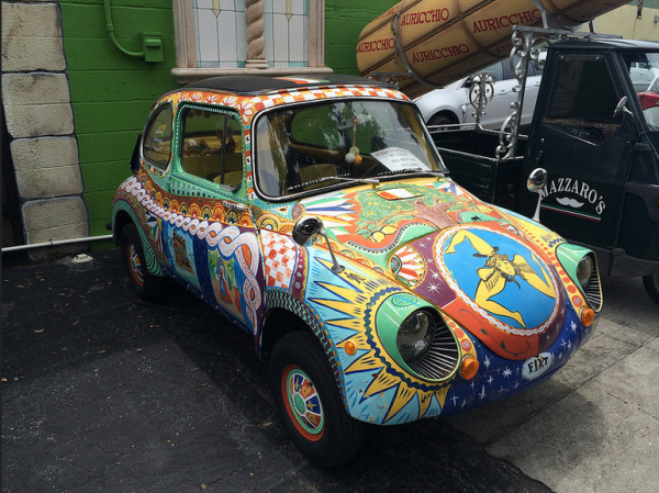 Subaru 360 painted