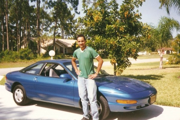 With my Ford Probe, 1998