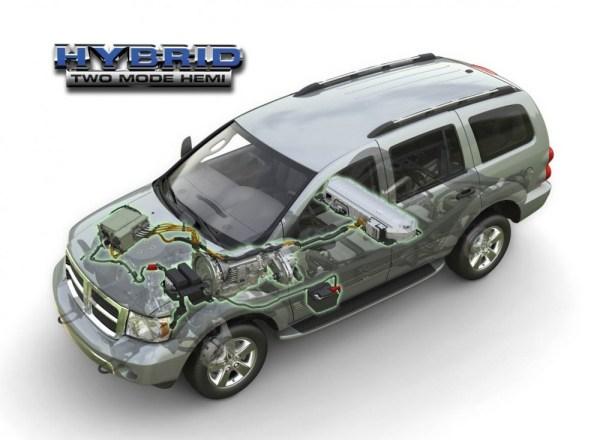 dodge durango hybrid schematic