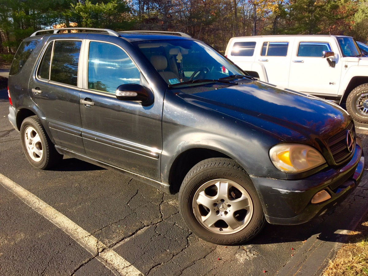 Curbside classic 2003 mercedes benz ml350 w163 for Mercedes benz 2003 ml350