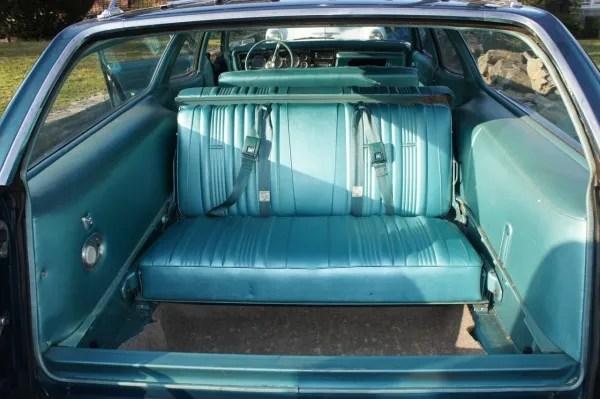 interior rear seat
