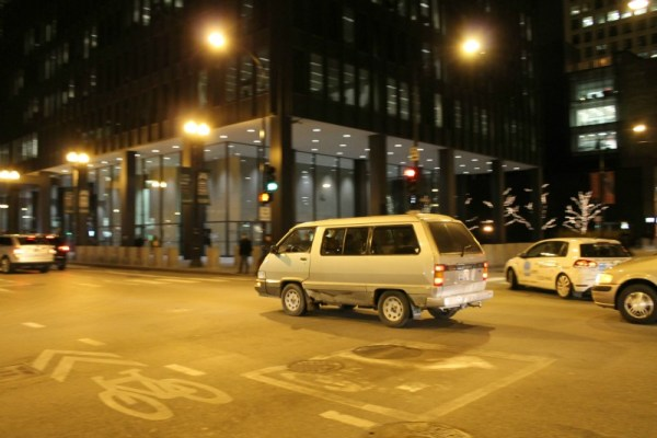 020 - 1988 Toyota Van LE CC