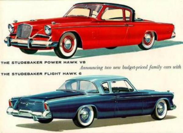 1956 Studebaker Hawk ad CC