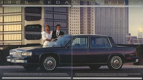 1985 Sedan de Ville brochure picture 1