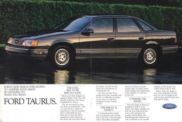 1986 Taurus ad 3