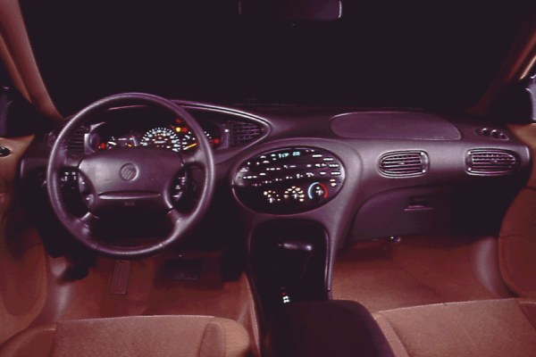 1996 mercury sable interior