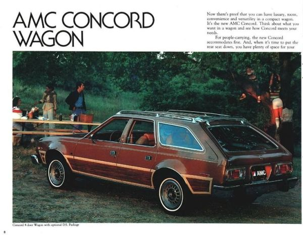 AMC Concord woody brochure