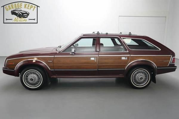 AMC Eagle woody wagon
