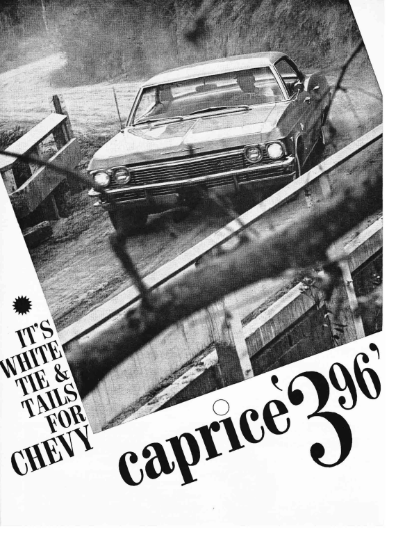 Vintage Review 1965 Chevrolet Caprice 396 Tested By Motor Trend
