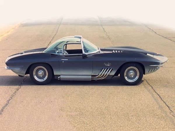 Corvette 1961 Mako Shark xp-755