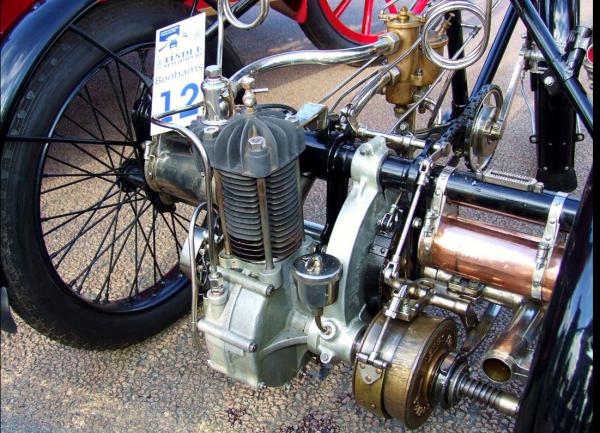 De Dion Bouton motor trike engine