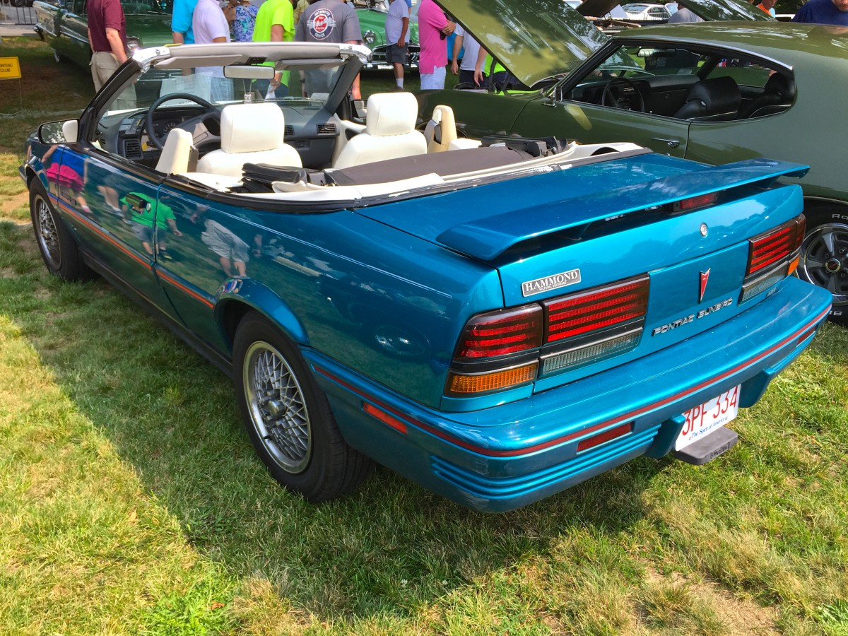 Introduced as a 1982 model pontiac s j car sunbird initially called j2000 then 2000 and then 2000 sunbird before finally settling on sunbird in