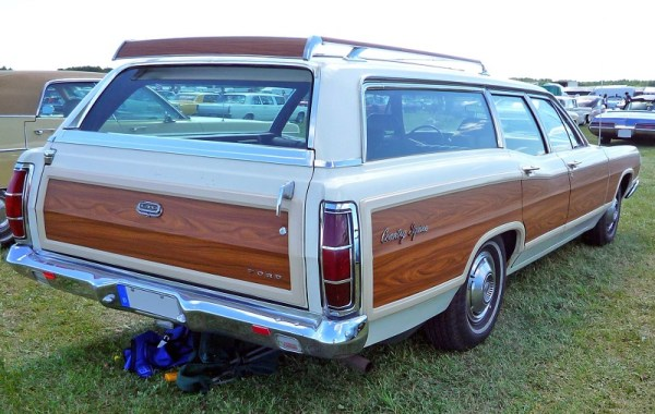 The venerable Ford Country Squire Wagon.