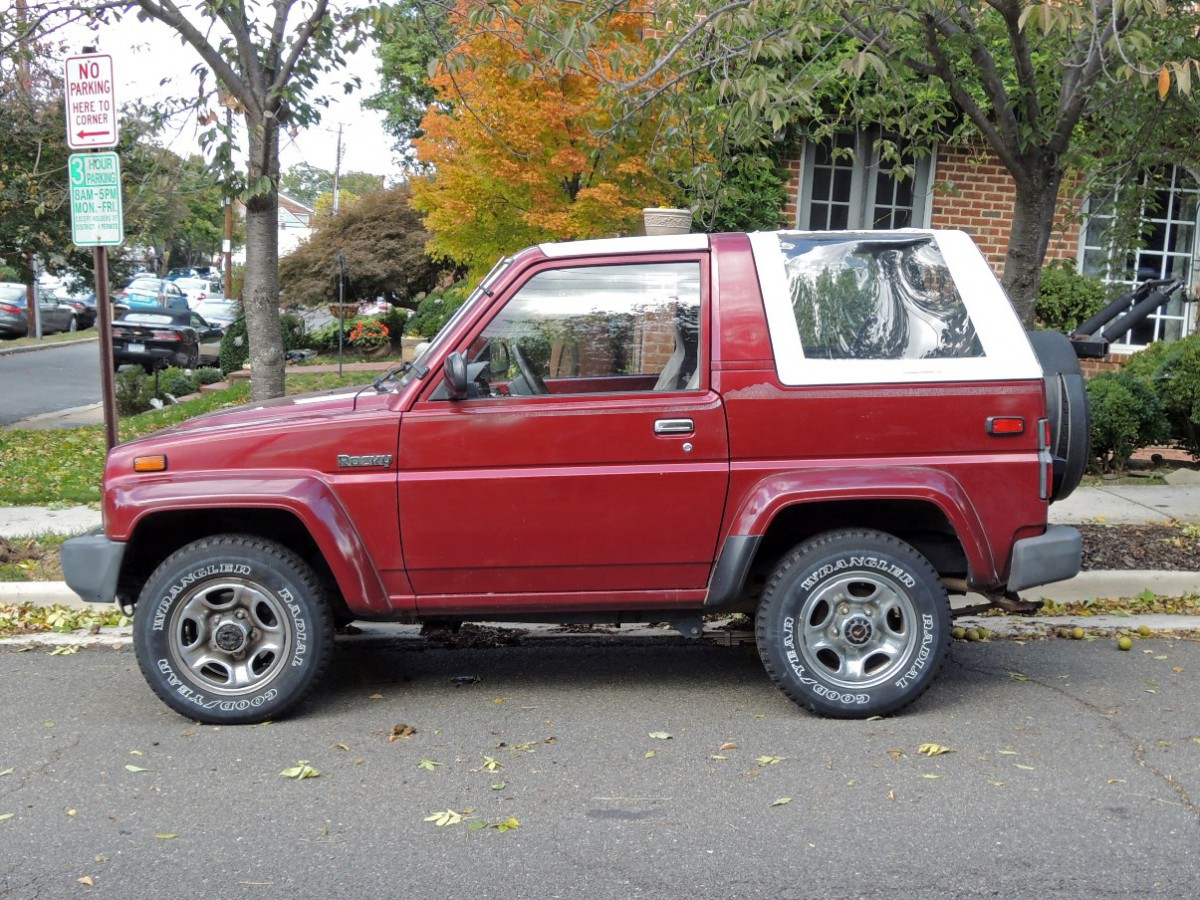 Curbside Classic Daihatsu Rocky Se Technical Knockout