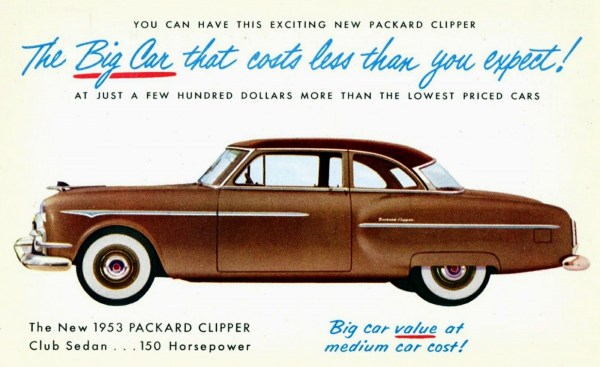 Packard 1953 Clipper-Club-Sedan