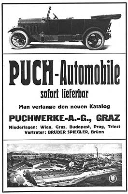 Puch ad