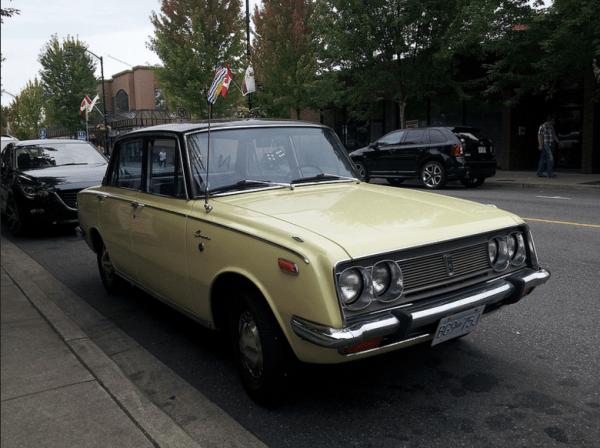 Toyota 1969 Corona ffq