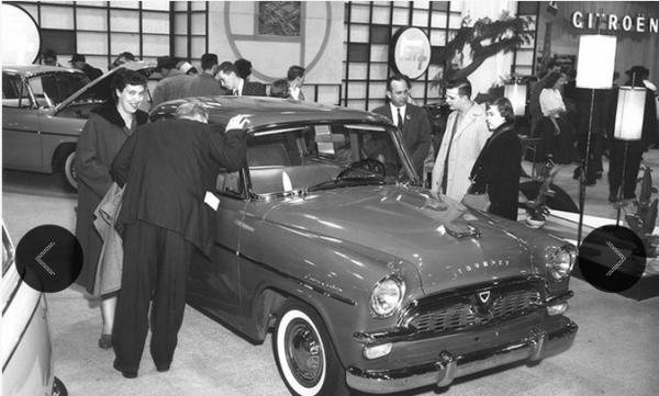 Toyota Toyopet 1960 Chicago show