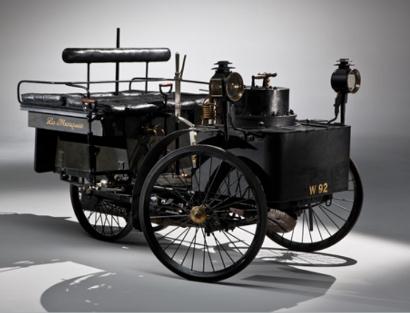 de dion bouton 1884 et trepardoux steam car410