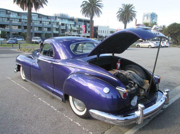 1947 Chrysler rear
