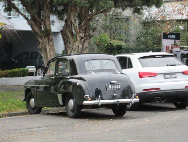 1951 Hillman Minx rear