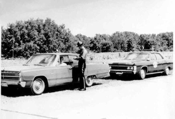 1969 mercury police stop