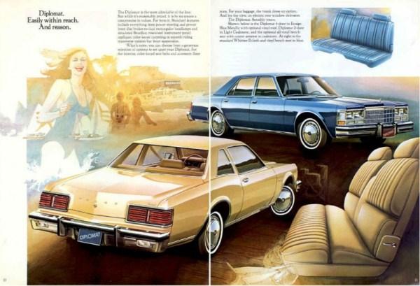 1979 Dodge Diplomat Advertisement CC
