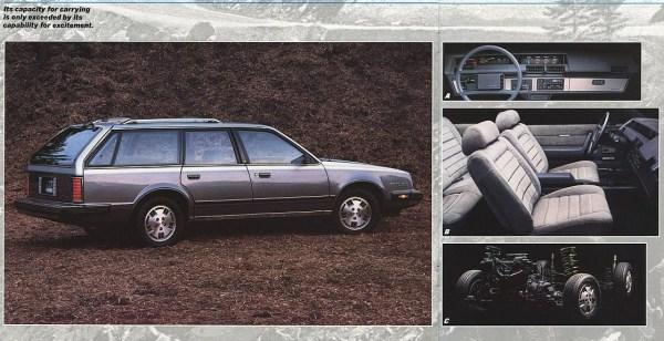 1985 Pontiac 6000 wagon