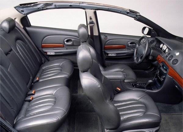 1991 LHS-300M interior cutaway