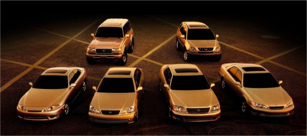 1997 Lexus lineup