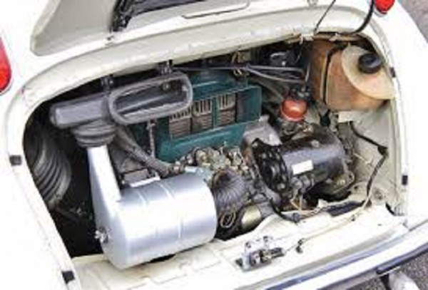 3 - Subaru 360 Engine