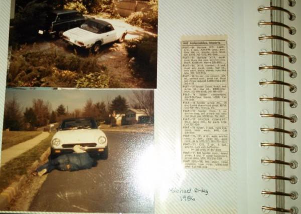 7 - Fiat 124 Sport Spider 1979