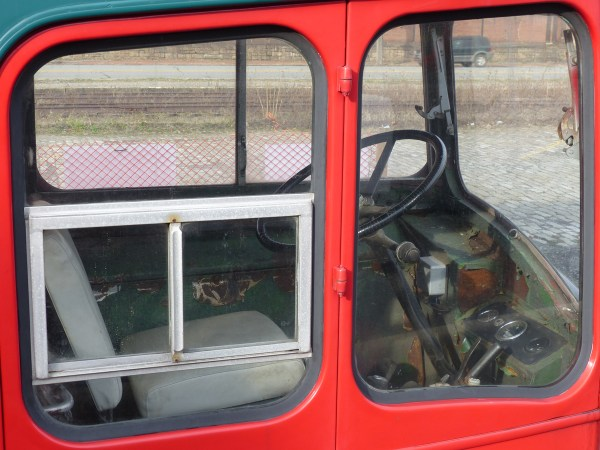 Bristol Lodekka driver seat Johnstown PA 20151230