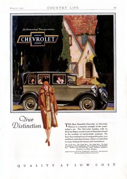Chevrolet 1927 Ad-02