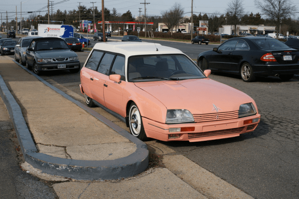 Citroen CX break pink fr