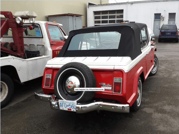 Jeepster conv rrq