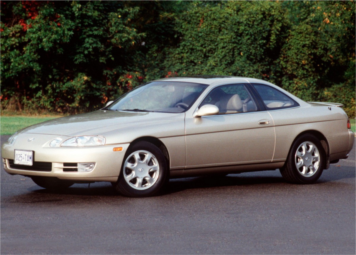 curbside classic: 1997 lexus sc 400 – v8-powered coupes from japan