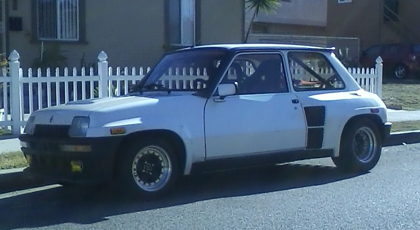 curbside classic 1983 86 renault r5 turbo ii le monster car. Black Bedroom Furniture Sets. Home Design Ideas