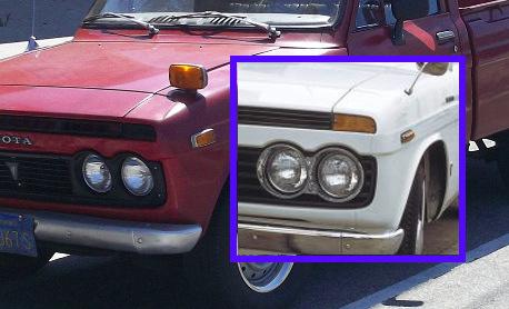 Toyota Hilux turn signals
