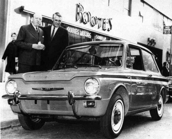 hillman_imp_cary_grant billy rootes