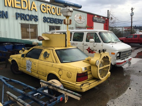 mazda 626 yellow submarine 4