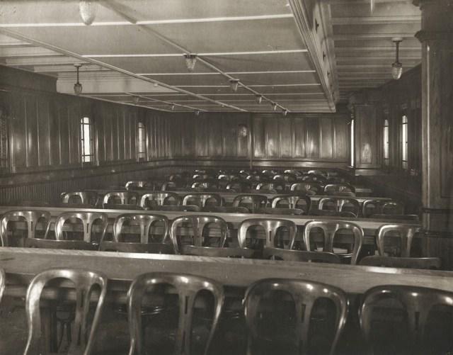 100 Mauretania Third class general activity room (Mauretania)