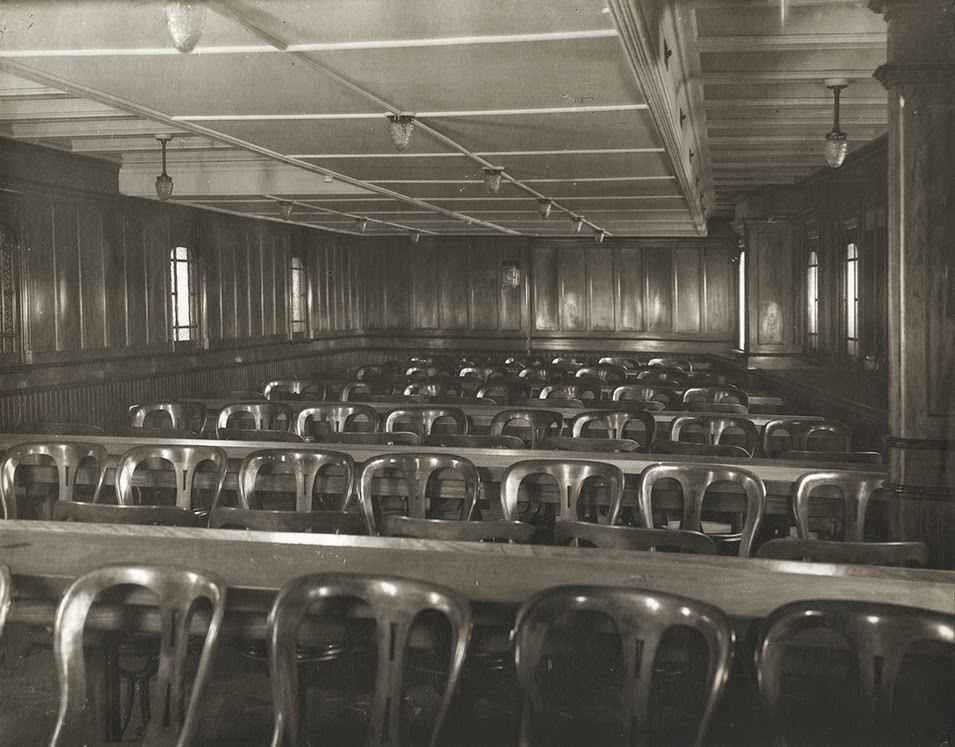 100 Mauretania Third class general activity room (Mauretania)