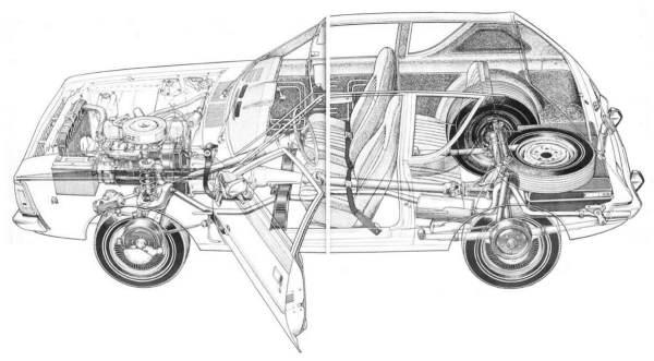 1972 Cutaway