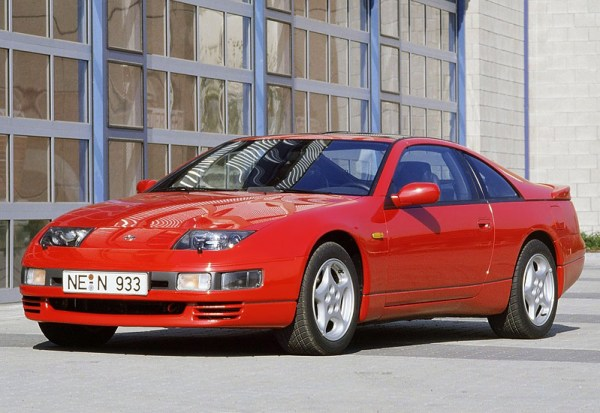 1989 Nissan Fairlady 300ZX Twin Turbo (Z32); top car design rating and specifications