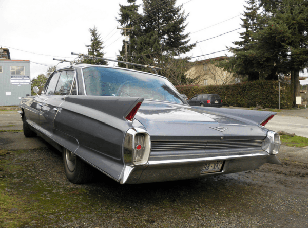 Cadillac 1962 roof rack r