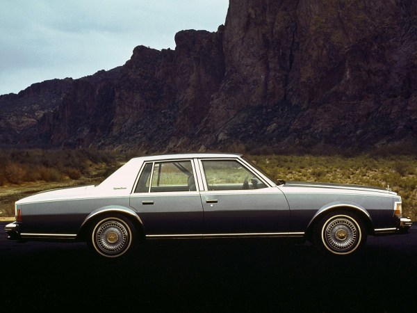 Chevrolet 1977 caprice large silver