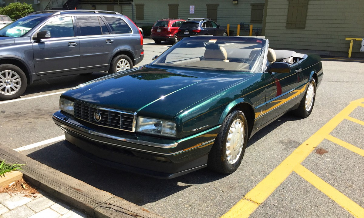 Curbside Classic 1993 Cadillac Allant 233 The Wreath And