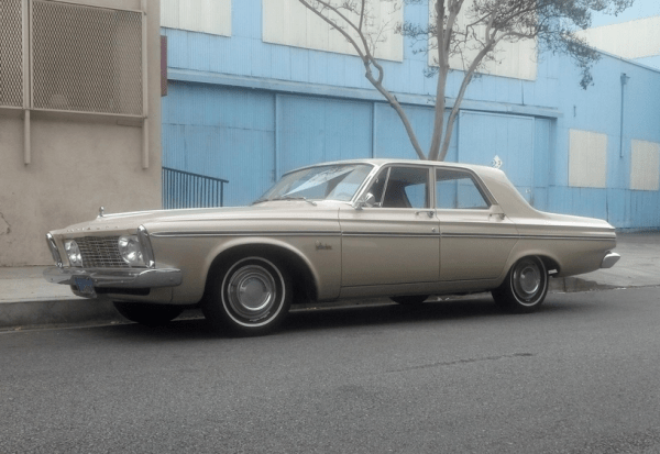 Plymouth 1963 belvedere fq tan